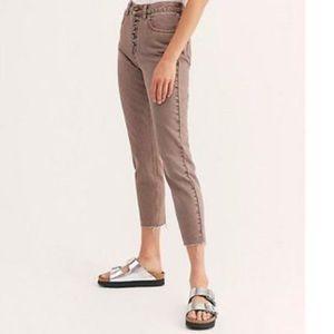Free People Blossom Rigid Skinny Jeans